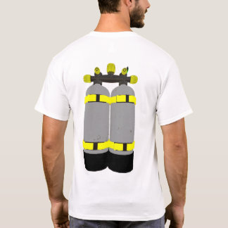 scuba diving tanks divers tshirt