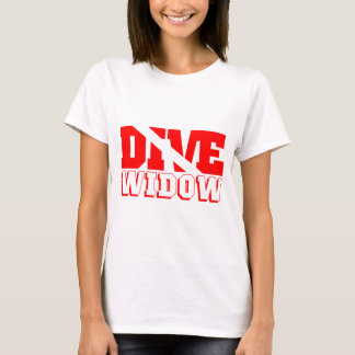 Scuba Diving Widow T-Shirt