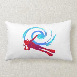 Scuba Dreams Lumbar Pillow