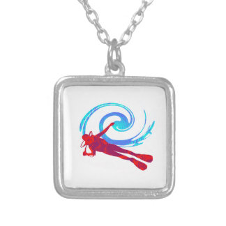 Scuba Dreams Silver Plated Necklace