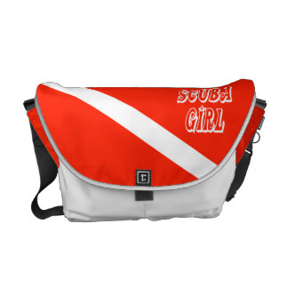 Scuba Girl Courier Bag