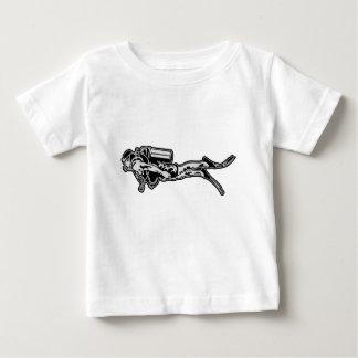 scuba more diver baby T-Shirt
