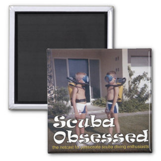 Scuba Obsessed Podcast Cover Magnet