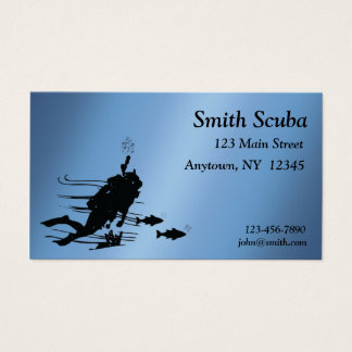 Scuba Profile Card
