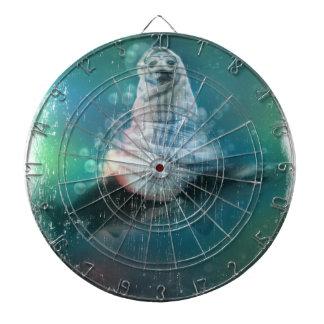 Scuba Seal Shark Life Funny Dart Board