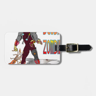 Scuba Zombie Luggage Tag