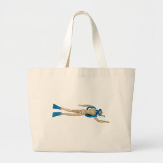 ScubaDiving052010 Large Tote Bag
