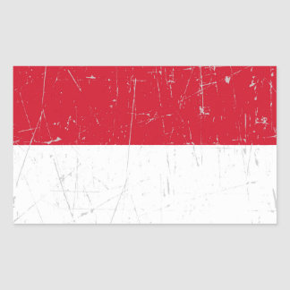 Scuffed and Scratched Monaco Flag