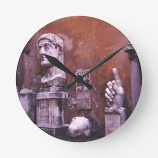 Sculpted Body Parts  Colossus of Constantine Rome Wall Clocks