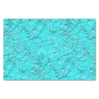 Sculpted Petunias Aqua-Tissue Paper Wrap