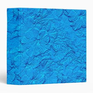 Sculpted Petunias, Light Blue Binder