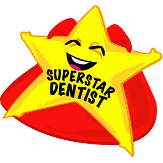 sculpture drôle en photo de dentiste de superstar  photo sculpture