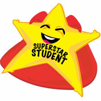 sculpture drôle en photo d'étudiant de superstar ! photo sculpture