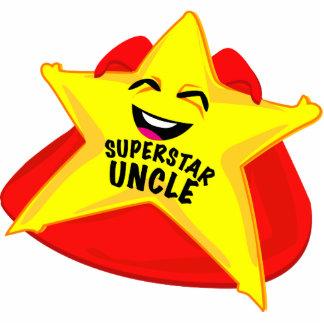 sculpture drôle en photo d'oncle de superstar ! photo sculpture
