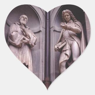 Sculpture Florence Heart Sticker