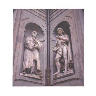 Sculpture Florence Notepads