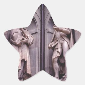 Sculpture Florence Star Sticker
