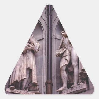 Sculpture Florence Triangle Sticker