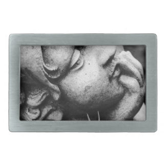 Sculptured angel belt buckles