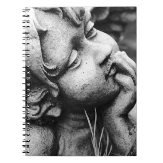 Sculptured angel notebooks
