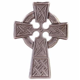 Sculptured Celtic Cross Magnet Photo Sculpture Magnet