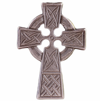 Sculptured Celtic Cross Pin Acrylic Cut Outs
