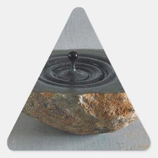 Sculptures  design triangle sticker