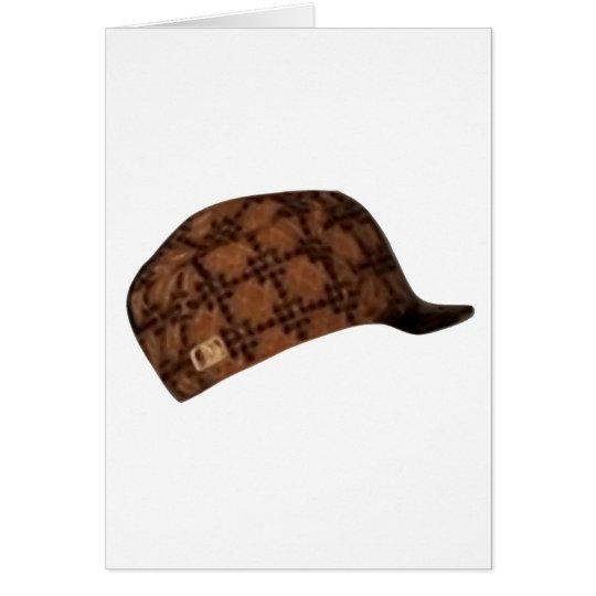 Scumbag Steve Hat Meme Card