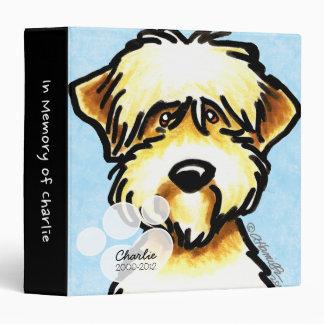 SCWT Pet Name Blue Memory Album Binders