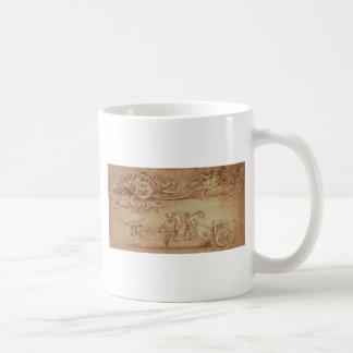 Scythed chariot coffee mug