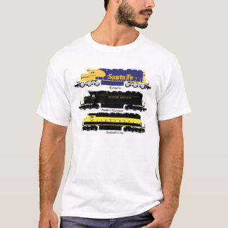 SD40 Diesel Electric Locomotive Poster T-Shirt
