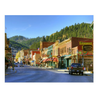 SD, Deadwood, Historic Gold Mining town Postcard