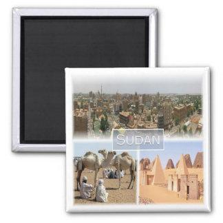 SD * Sudan - Khartoum Magnet