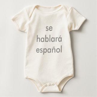 se hablar espaol baby bodysuit
