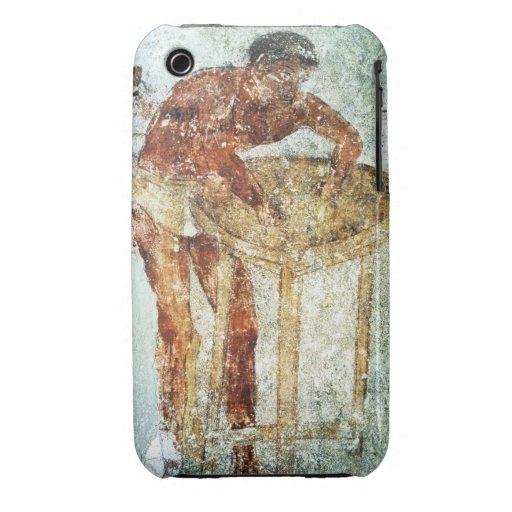 Se préparant à un banquet, 4ème siècle AVANT JÉSUS Étuis iPhone 3