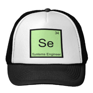 Se - Systems Engineer Funny Chemistry Element Tee Hats