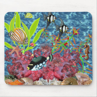 Sea 2 mouse pad