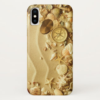 Sea and Beach iPhone X Case