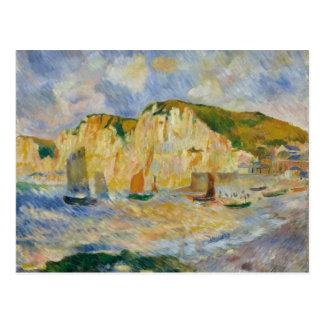 Sea and Cliffs Postcard