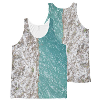 Sea and land asymmetrical vest