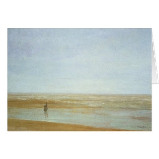 Sea and rain by James Abbott McNeill Whistler Cards