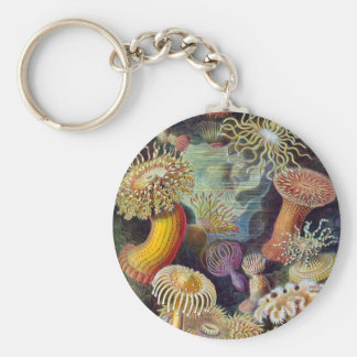 Sea Anemones Keychain