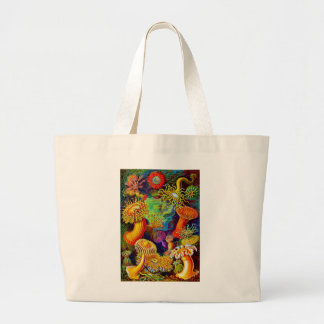 Sea Anemones Large Tote Bag