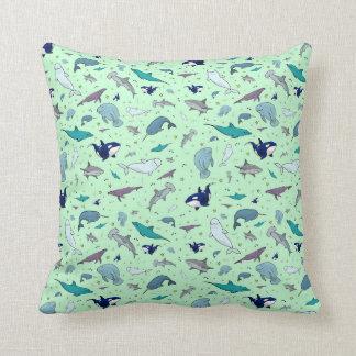 Sea Animals Cushion