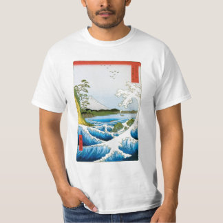 Sea at Satta in Suruga Province by Ando Hiroshige Tee Shirts