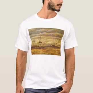 Sea at Scheveningen by Vincent van Gogh T-Shirt