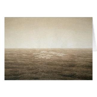 Sea at Sunrise, 1828 Card