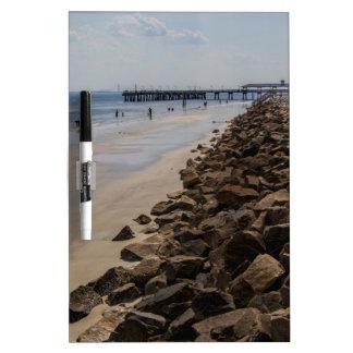 Sea Barrier Atlantic Ocean Georgia Beach Dry-Erase Whiteboards
