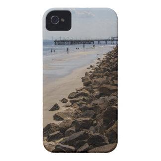Sea Barrier Atlantic Ocean Georgia Beach iPhone 4 Case