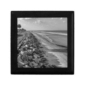 Sea Barrier Atlantic Ocean Georgia Black and White Gift Boxes